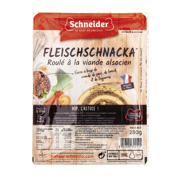 Fleiscshschnacka : roulés à la viande alsaciens