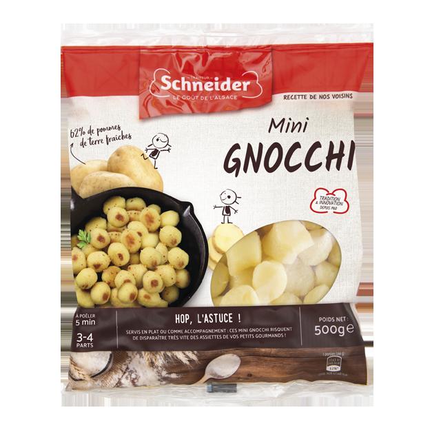 Mini gnocchis de pommes de terre à l'alsacienne