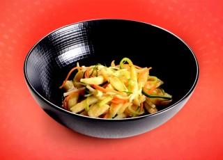 Recette originale de spaetzle aux légumes étuvés et à l'orange