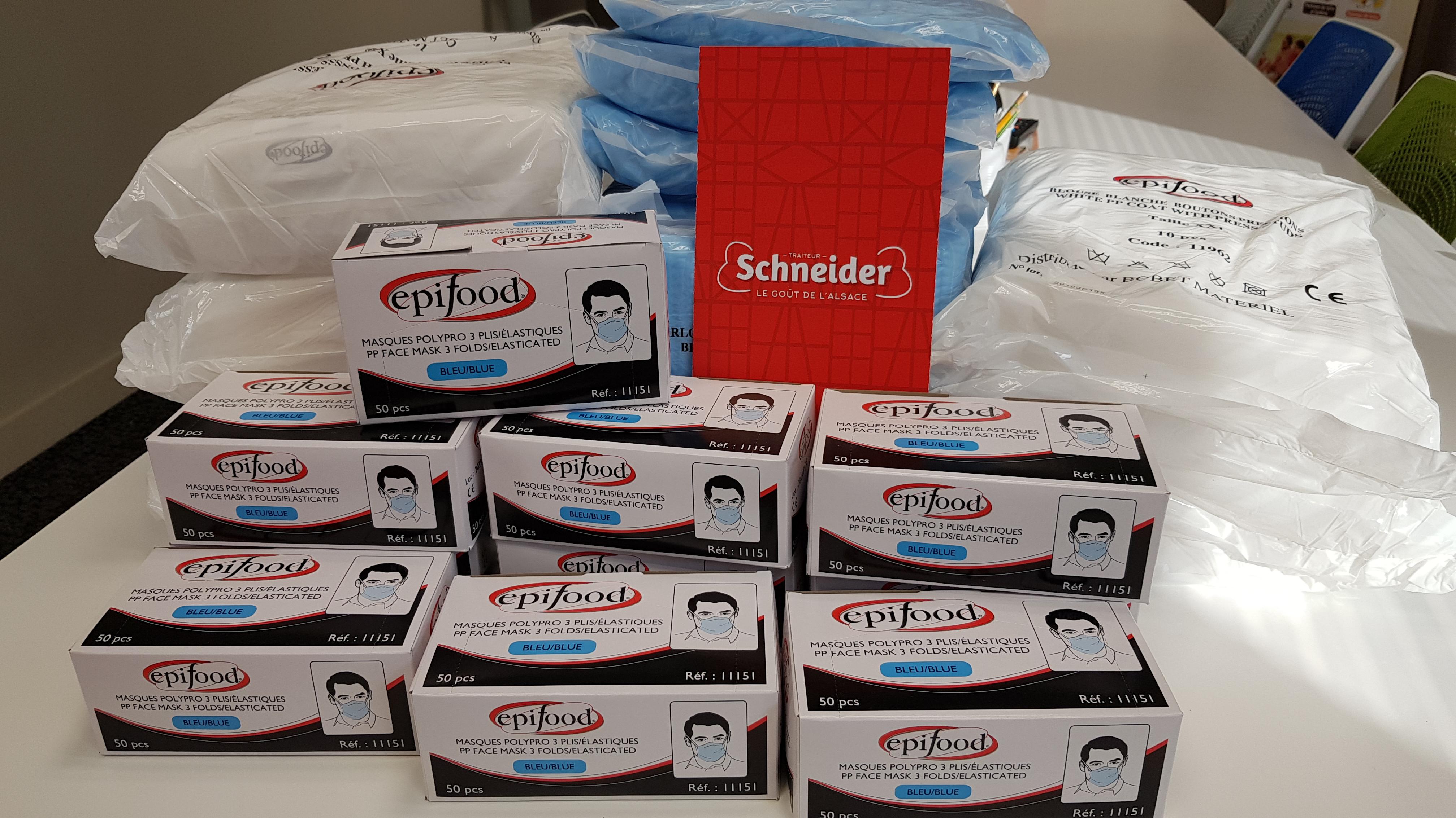 Tous mobilisés dans la lutte contre le coronavirus - Schneider TRAITEUR