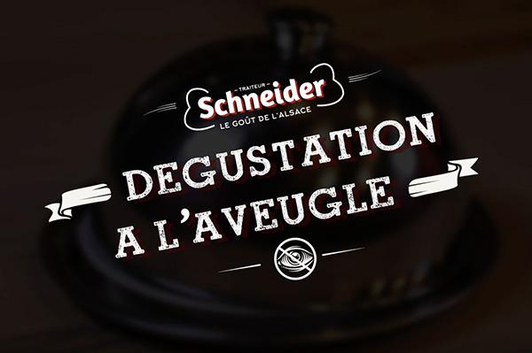 Dégustation à l'aveugle Traiteur Schneider - 2e édition